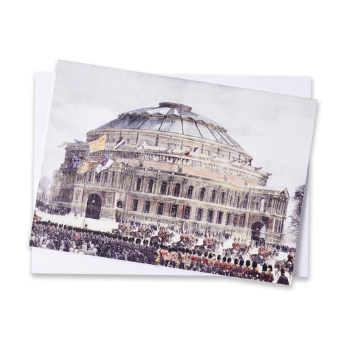 Opening Of The Hall Greetings Card - Royal Albert Hall