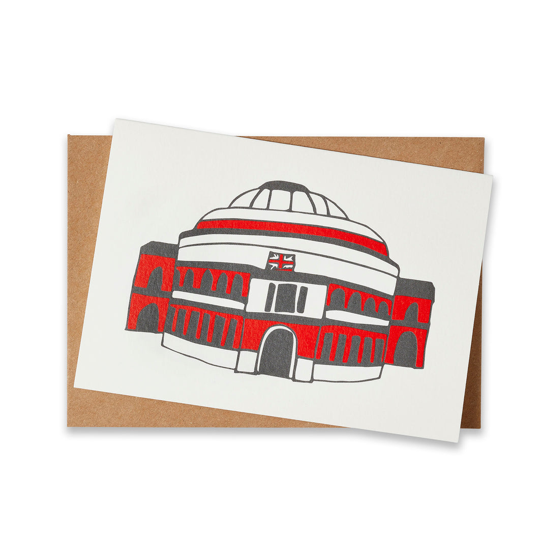 Simply London Hall Greeting Card - Royal Albert Hall