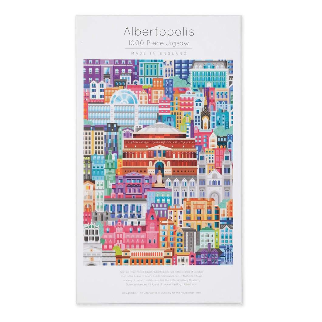 Albertopolis Jigsaw - Royal Albert Hall
