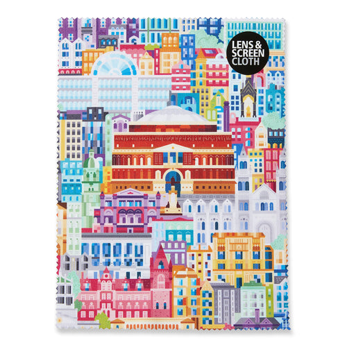 Albertopolis Lens Cloth - Royal Albert Hall