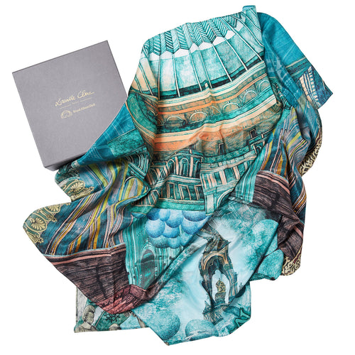Lucille Clerc Silk Scarf - Royal Albert Hall