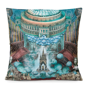Lucille Clerc Cushion Cover - Royal Albert Hall