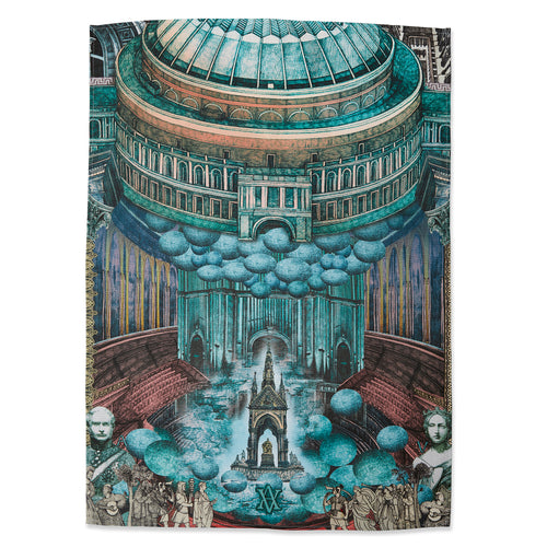 Lucille Clerc Tea Towel - Royal Albert Hall