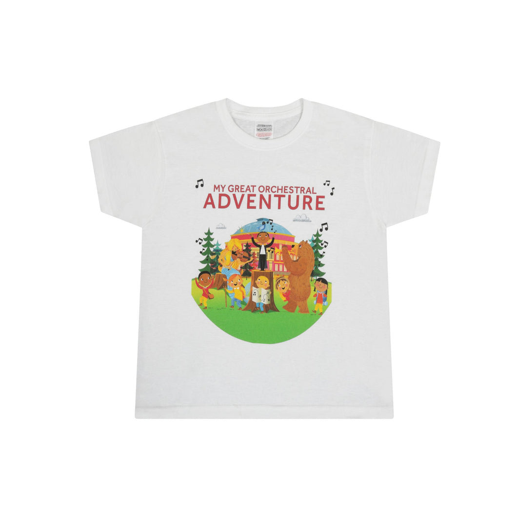 My Great Orchestral Adventure Children's T-Shirt - Royal Albert Hall