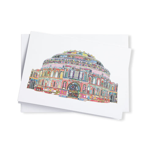 Patchwork Greetings Card - Royal Albert Hall