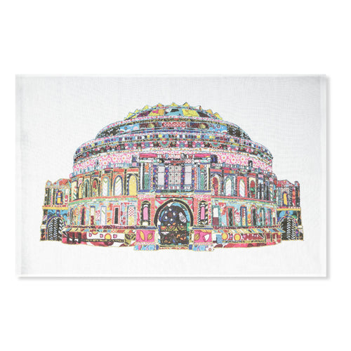 Patchwork Tea Towel - Royal Albert Hall