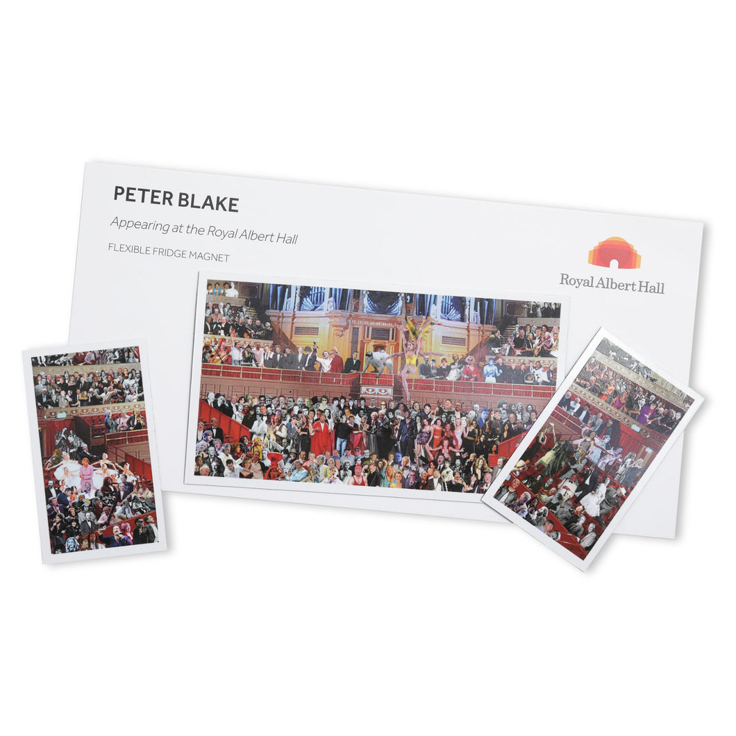 Peter Blake Magnet - Royal Albert Hall
