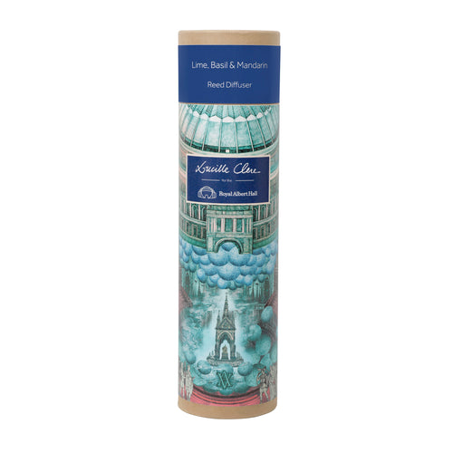 Lucille Clerc Reed Diffuser: Lime, Basil & Mandarin - Royal Albert Hall