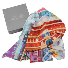 Load image into Gallery viewer, Albertopolis Silk Scarf - Royal Albert Hall