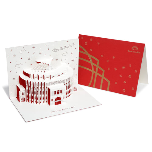 Royal Albert Hall Pop Up Christmas Card - Royal Albert Hall