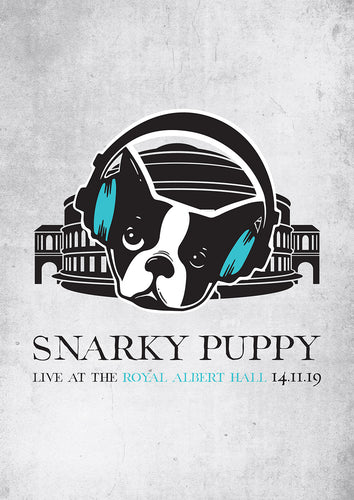 Snarky Puppy: Live At The Royal Albert Hall - Signed A3 Art Print with free download - Royal Albert Hall