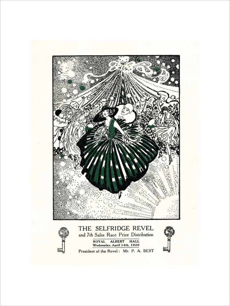 Programme for The Selfridge Revel and Seventh Sales Race Prize Distribution, 14 April 1920 - Royal Albert Hall