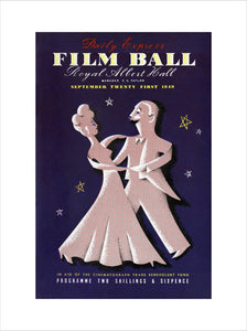 Programme for The Daily Express Film Ball, in aid of The Cinematograph Trade Benevolent Fund, 21 September 1949 - Royal Albert Hall
