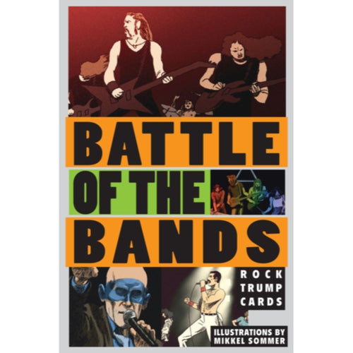 Battle of the Bands: Rock Trump Cards - Royal Albert Hall