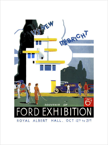 Ford Motor Exhibition - 1933