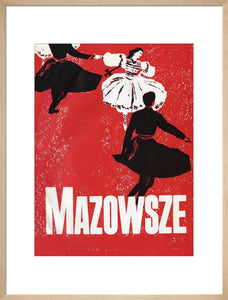 Programme for Mazowsze State Dance Company - Polish Song and Dance Company, 3-19 July 1962 - Royal Albert Hall