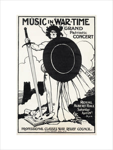 Grand Patriotic Concert - Music in Wartime, in aid of the Professional Classes War Relief Council and Recruiting Bands, 24 April 1915 - Royal Albert Hall
