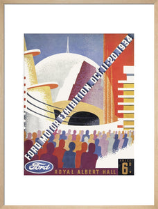 Programme for Ford Motor Exhibition, 11-20 October 1934 - Royal Albert Hall