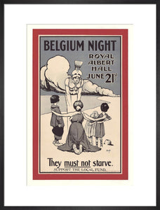 Belgian Independence Day Concert, in aid of Various Belgian Charity Funds, 21 June 1916 - Royal Albert Hall