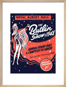 Programme for Butlin's Show of 1948 - Annual Grand Ball and Campers' Re-Union, 2-3 February 1948 - Royal Albert Hall
