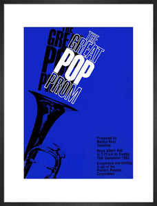 Programme for The Great Pop Prom in aid of The Printers Pension Corporation, 15 September 1963 - Royal Albert Hall