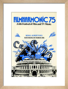 Programme for Filmharmonic 1975 - Sixth Festival of Film and TV Music, 18 October 1975 - Royal Albert Hall