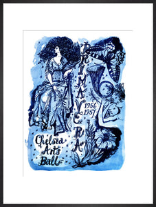 Programme for The Chelsea Arts Club Annual Ball - 'Primavera', 31 December 1956 - Royal Albert Hall