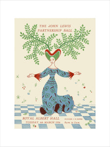 Programme for John Lewis Partnership Ball , 6 March 1956 - Royal Albert Hall