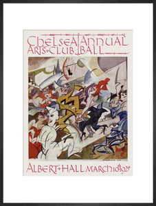 Programme from The Chelsea Arts Club Annual Ball - 'Pre-Historic', 10 March 1920 - Royal Albert Hall