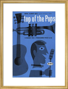 Programme for Top of The Pops, 14 March 1963 - Royal Albert Hall