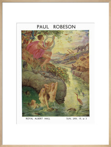 Programme for Paul Robeson Concert - Royal Albert Hall
