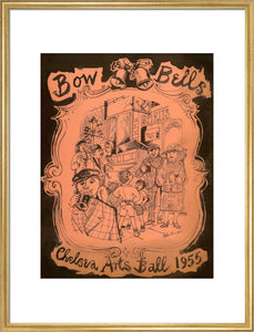 Programme for The Chelsea Arts Club Annual Ball - 'Bow Bells', 30 December 1955 - Royal Albert Hall