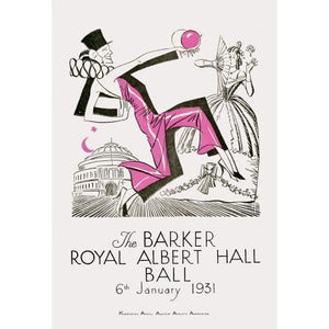 Programme for The Barker Royal Albert Hall Ball, 6 January 1931 - Royal Albert Hall