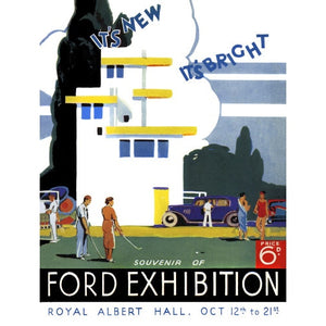 Programme for Ford Motor Exhibition, 12-21 October 1933 - Royal Albert Hall