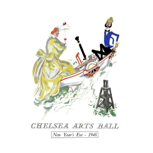 Programme for The Chelsea Arts Club Annual Ball - 'London River', 31 December 1948 - Royal Albert Hall