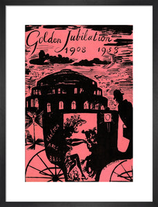 The Chelsea Arts Club Annual Ball 'Golden Jubilation' Art Print