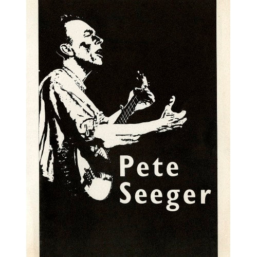 Programme for Pete Seeger, 16 November 1961 - Royal Albert Hall