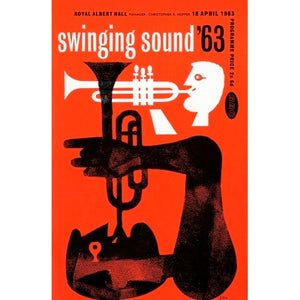 Programme for Swinging Sound '63, 18 April 1963