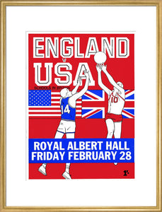 English Schools Basketball Tournament Art Print