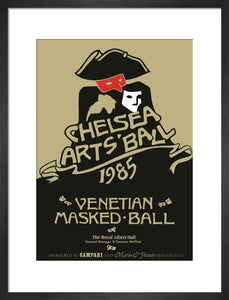 The Chelsea Arts Club Ball 'Venetian Masked Ball' Art Print