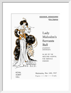 Lady Malcolm's Servants' Ball (Fourteenth Anniversary) Art Print