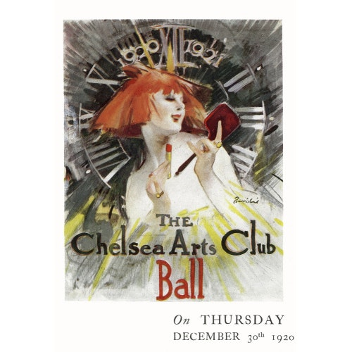 Programme for The Chelsea Arts Club Annual Ball - 'Long Ago' - Royal Albert Hall