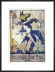 The Chelsea Arts Club Annual Ball 'Old English' Art Print