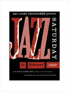 Jazz Saturday ,New Orleans To Dixieland Art Print