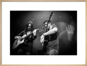 Rodrigo y Gabriela, 2014, Black & White Close Up Photo Print - Royal Albert Hall