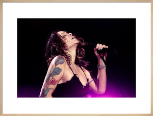 Beth Hart, 2018, Close Up Photo Print
