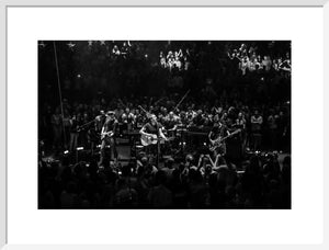 Coldplay, 2014, Black and White On Stage Photo Print