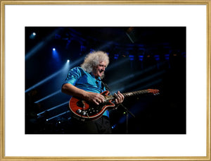 Brian May, 2014, Close Up Photo Print