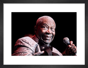 B.B. King, 2011, Close Up Photo Print