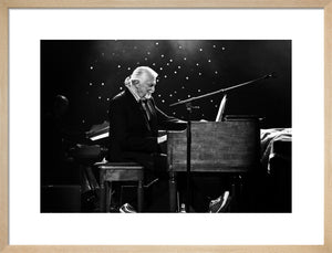 Jon Lord, 2011, Black and White On Stage Photo Print